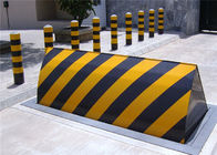 Access control system automatic traffic control hydraulic road blocker for roadway safety