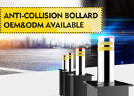 Heavy Duty IP68 Dia 324mm Automatic Rising Bollards For Hospitals / Airports