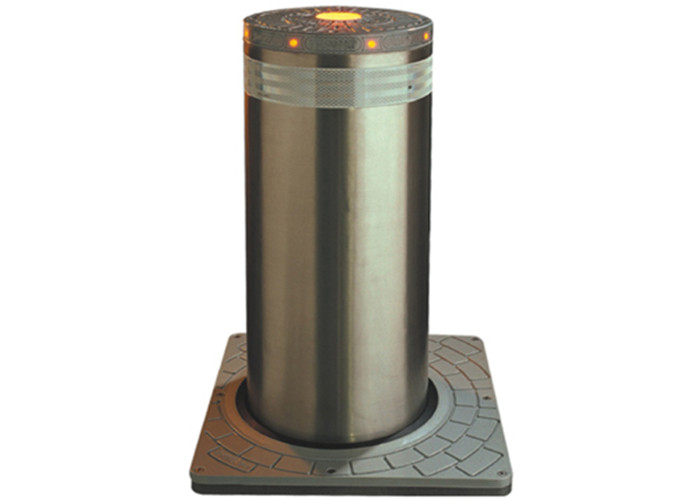 304 SS Hydraulic Automatic Rising Bollards Hydraulic Bollards For Security