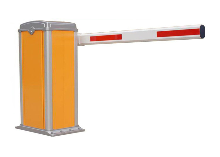 Straight Arm Waterproof Auto Barrier Gate System Parking Lot Barrier With Aluminum Housing