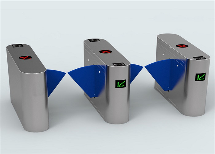 Card Validator Checkpoint station / brt fast speed flap barrier turnstile 5 million operation times