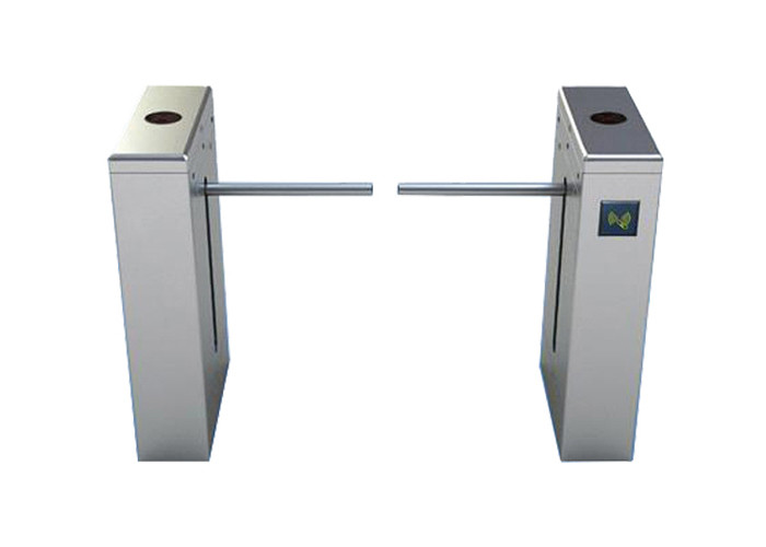 Double Way bi-directional Intelligent 316SS Drop Arm Turnstile Crowd Control System For Airport