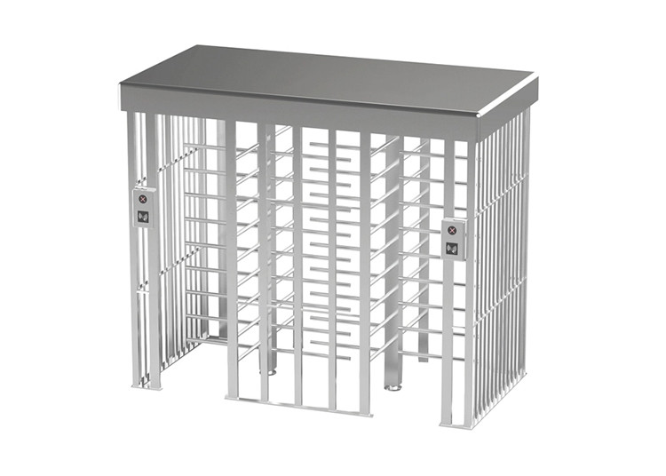 500mm Arm SUS304 40W Full Height Turnstile Gate Double Passage
