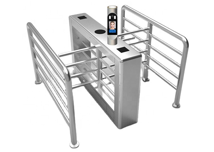 Half Height 40cm Arm 40W SUS304 Access Control Turnstile Gate