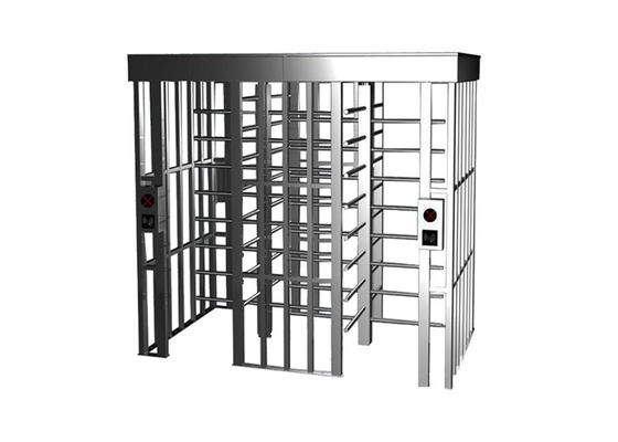 Anti Tailing 24V 0.2S SS304 RFID Access Control Turnstile